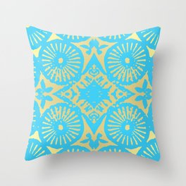 tropicana 23 Throw Pillow
