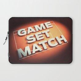 Game Set Match Laptop Sleeve