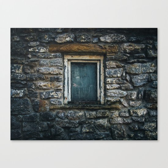Who's That Peepin' In The Window? Canvas Print
