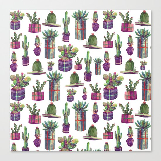 CACTUS GIFT Canvas Print