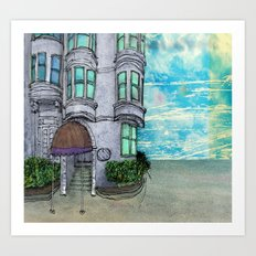San Fran Corner Art Print