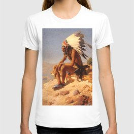 """Western Art """"Lord of His Domain"""" T-shirt"""
