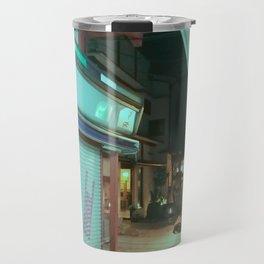 Asakusa by night 01 Travel Mug
