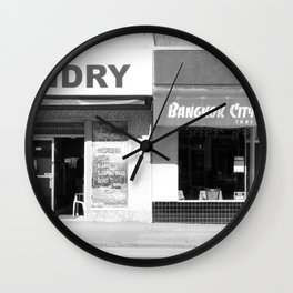 Fourth Ave Wall Clock