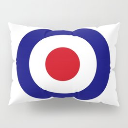 Red White And Blue Roundel Pillow Sham