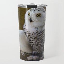 White Owl Travel Mug