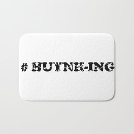 #Huynh-ing Scattered Leaves Bath Mat