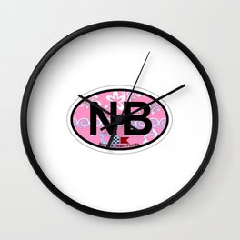 Navarre Beach - Florida. Wall Clock