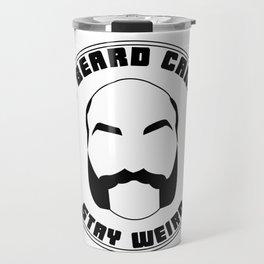 Weird Beard Candle Co. logo Travel Mug