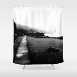LAKE OF JOUX II (CH) Shower Curtain
