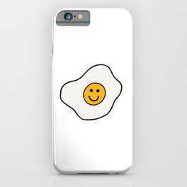 Happy Fried Egg iPhone Case