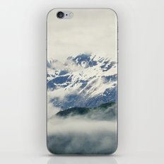 Mountains and Fog iPhone & iPod Skin