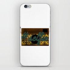 #Selfie iPhone & iPod Skin