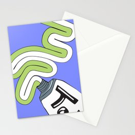 Toothpaste Stationery Cards