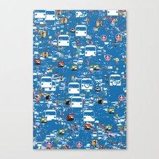 My GPS Canvas Print