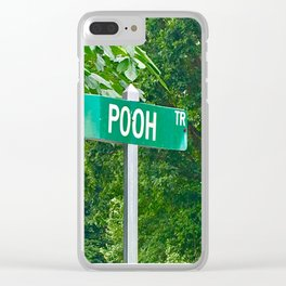 Funny pooh Clear iPhone Case