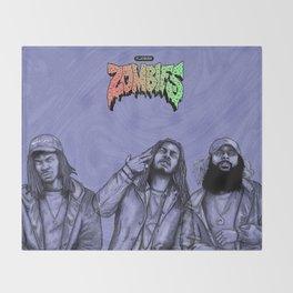 Flatbush ZOMBiES.(alt) Throw Blanket