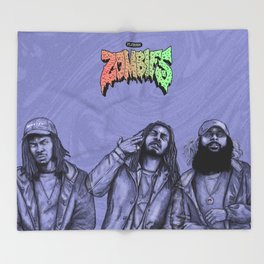 Flatbush ZOMBiES.(alt) Throw Blanket