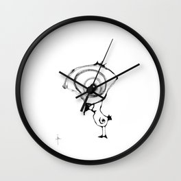 Pollito Wall Clock