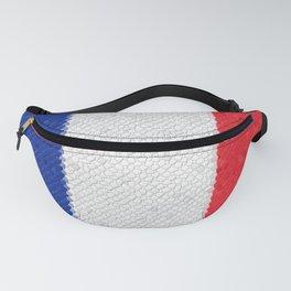 France Flag Mosaic Fanny Pack