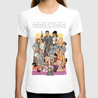 archer T-shirts featuring Archer by Alex Sollazzo