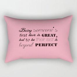 Love Quote Rectangular Pillow