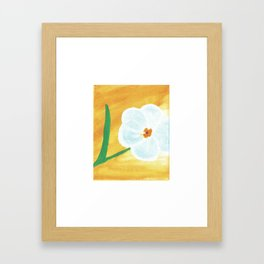 Forget Me Not 2 Framed Art Print