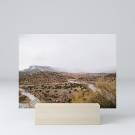 Mist in New Mexico Mini Art Print