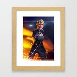 Spark of Honor - Hattie Framed Art Print