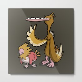 Pokémon - Number 21 & 22 Metal Print