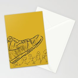 Giant shoe Stationery Cards