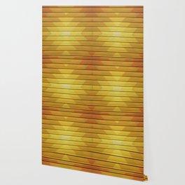 Fall Geometric Pattern Wallpaper
