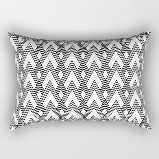 Minimal pattern Rectangular Pillow