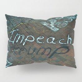 Spray paint: Impeach Trump Pillow Sham