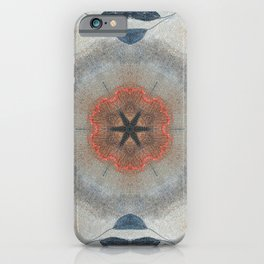 Bushfire Gum Medallion 10 iPhone Case