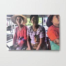 Burmese Days Metal Print