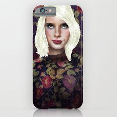 Young Girl and Flowers (Emma Roberts) Slim Case iPhone 6s