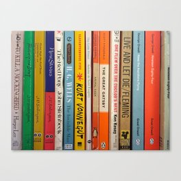 Literature Canvas Print