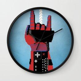 Power Glove Love: Spider-Man Wall Clock