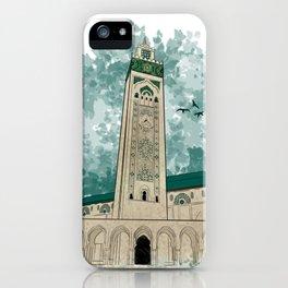 Hassan II Mosque iPhone Case