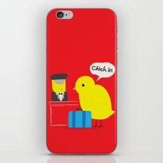 Chick in! iPhone & iPod Skin