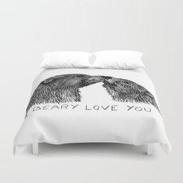 I beary love you Duvet Cover