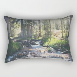 a mountain stream ... Rectangular Pillow