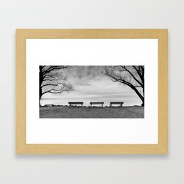 Front Row Seats Framed Art Print