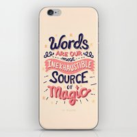 risa rodil iPhone & iPod Skins featuring Source of Magic by Risa Rodil