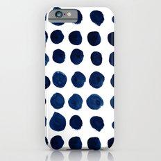 Blue Dots Slim Case iPhone 6