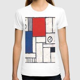 Joaquin Torres Garcia Constructive Clock T-shirt