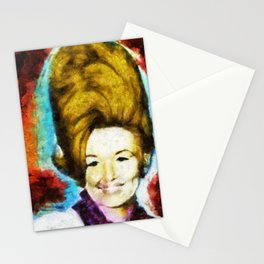 Young Dolly by Aaron Bir Stationery Cards