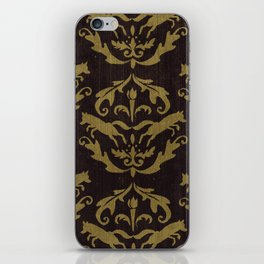 Fox Damask iPhone Skin
