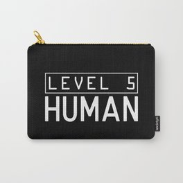 Funny Gaming - Level 5 Human Carry-All Pouch